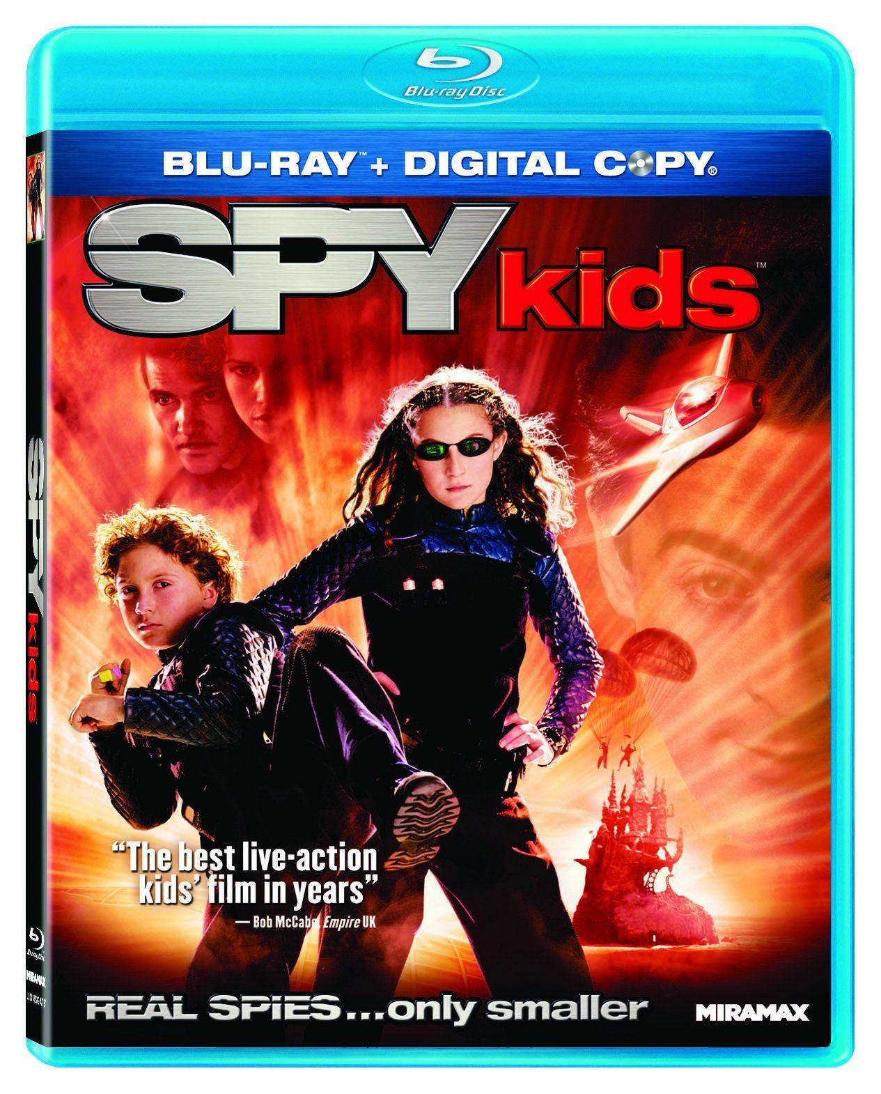 Spy Kids Blu Ray Kids Spy Ray Spy Kids Movie Spy Kids