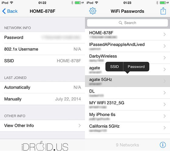 WiFi Passwords cydia tweak | Cydia Tweak in 2019 | Wifi password