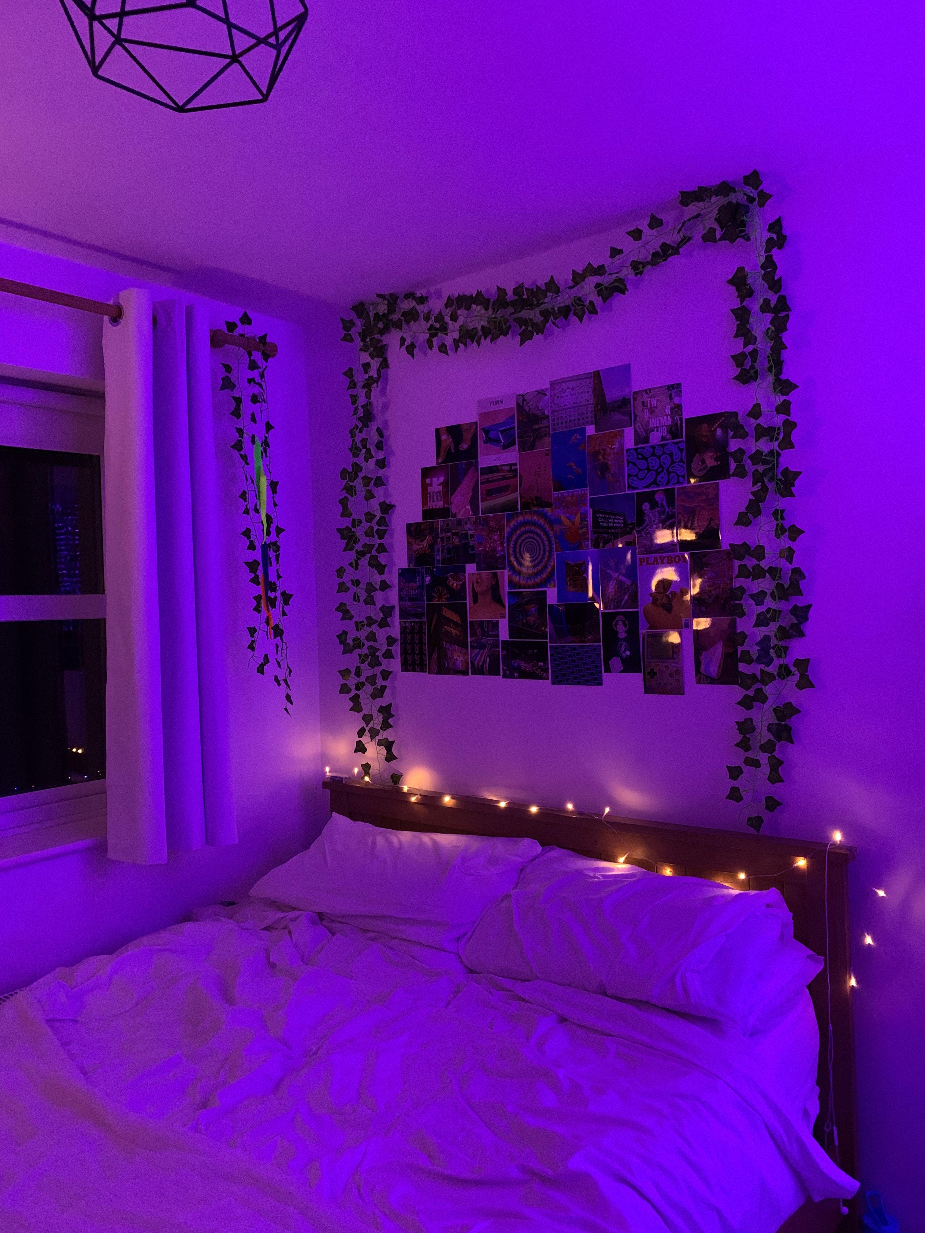bedroom ideas in 19  Neon room, Dreamy room, Indie room