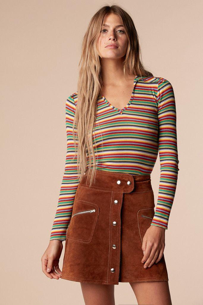 Brady Bunch Rainbow Shirt | Retro fashion, Retro outfits ...