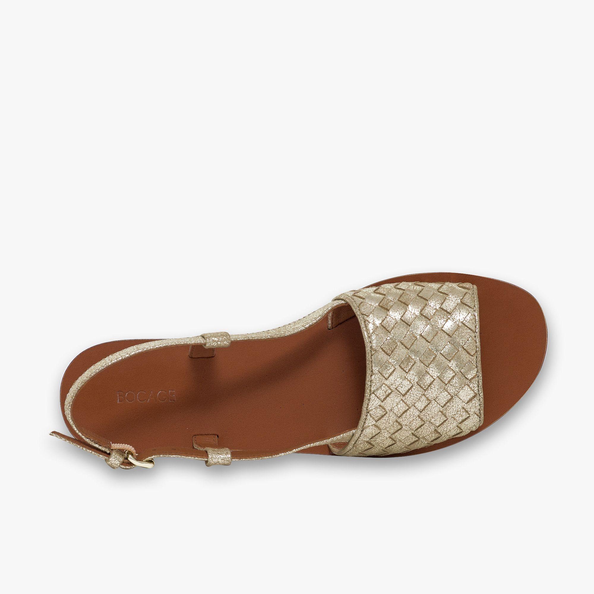 Métallisé 2018 Tressé Cuir Chaussures Nx0csiaw Pinterest Sandale Or En UpqVGMSz