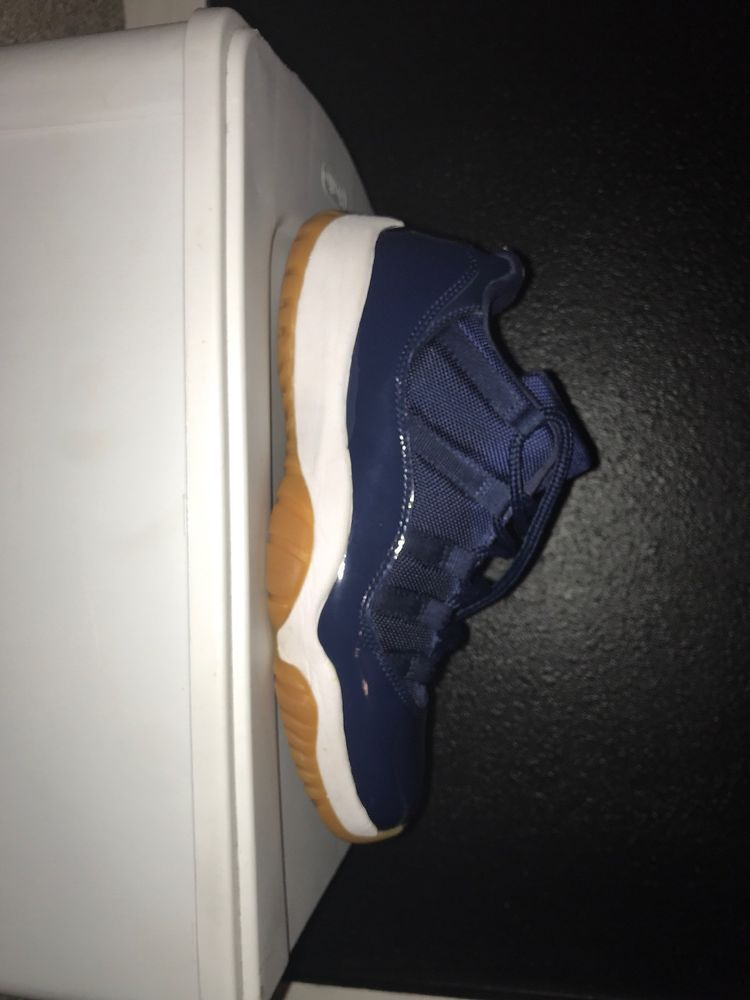 low priced aa1ff 2492f 2016 NIKE Air Jordan 11 Retro Low Midnight Navy Gum XI US 9 UK 8 EUR 42.5  CM 27  fashion  clothing  shoes  accessories  mensshoes  athleticshoes  (ebay link)