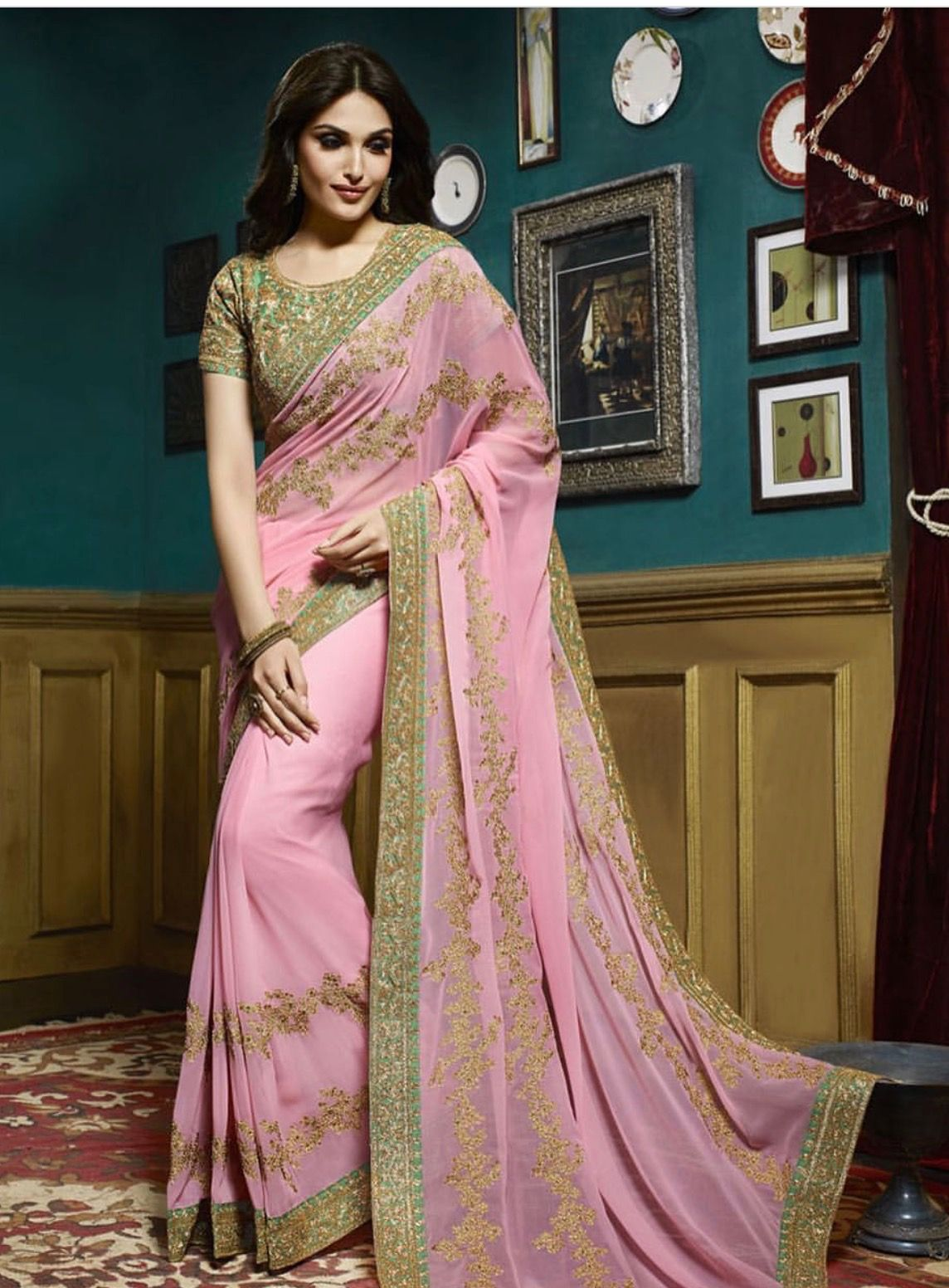 Pin by Panache Apparels on Saree Party wear sarees