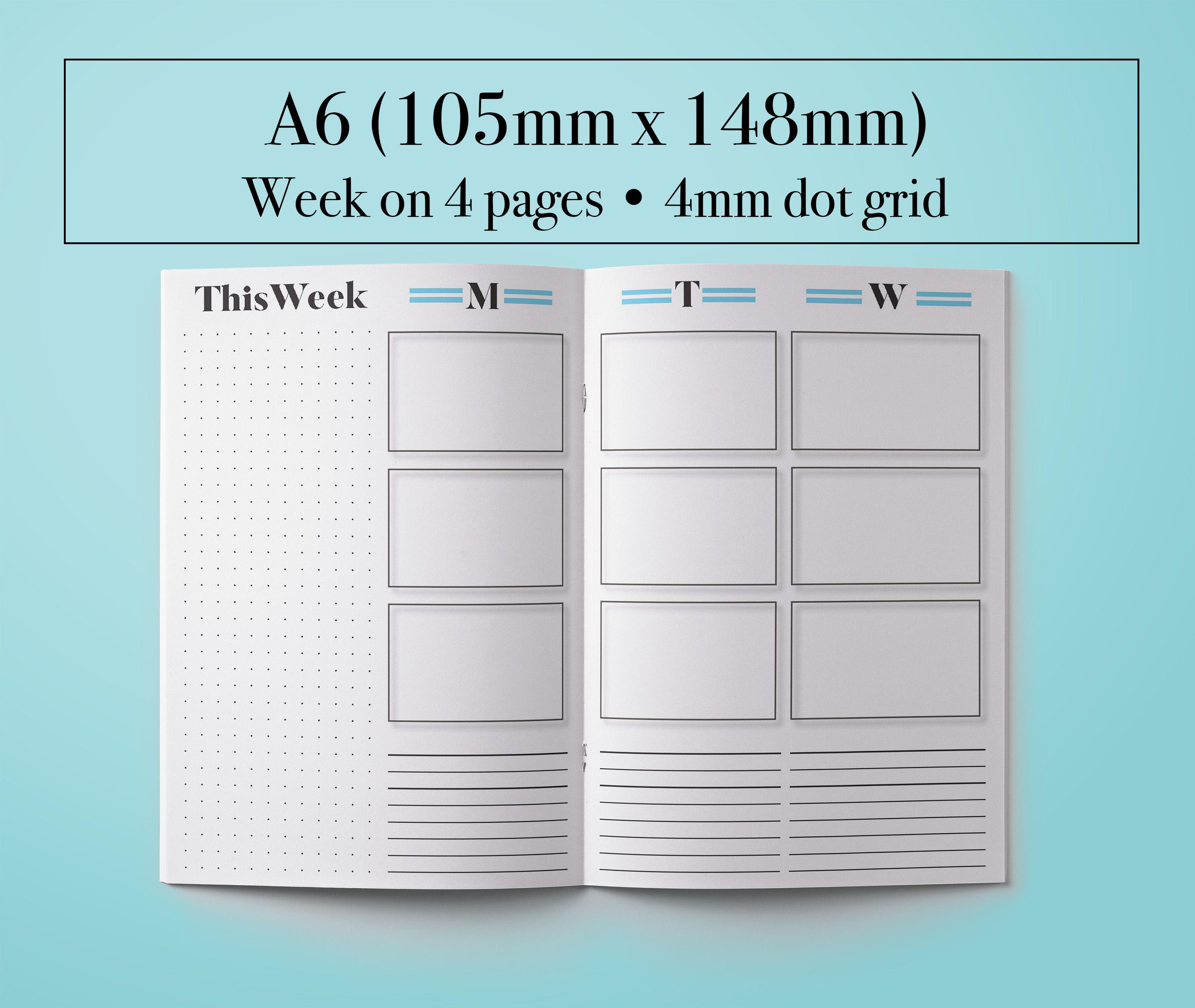 graphic relating to Diy Planner Pages referred to as Do-it-yourself Planner! A6 Weekly add upon 4 Internet pages. Monday get started towards