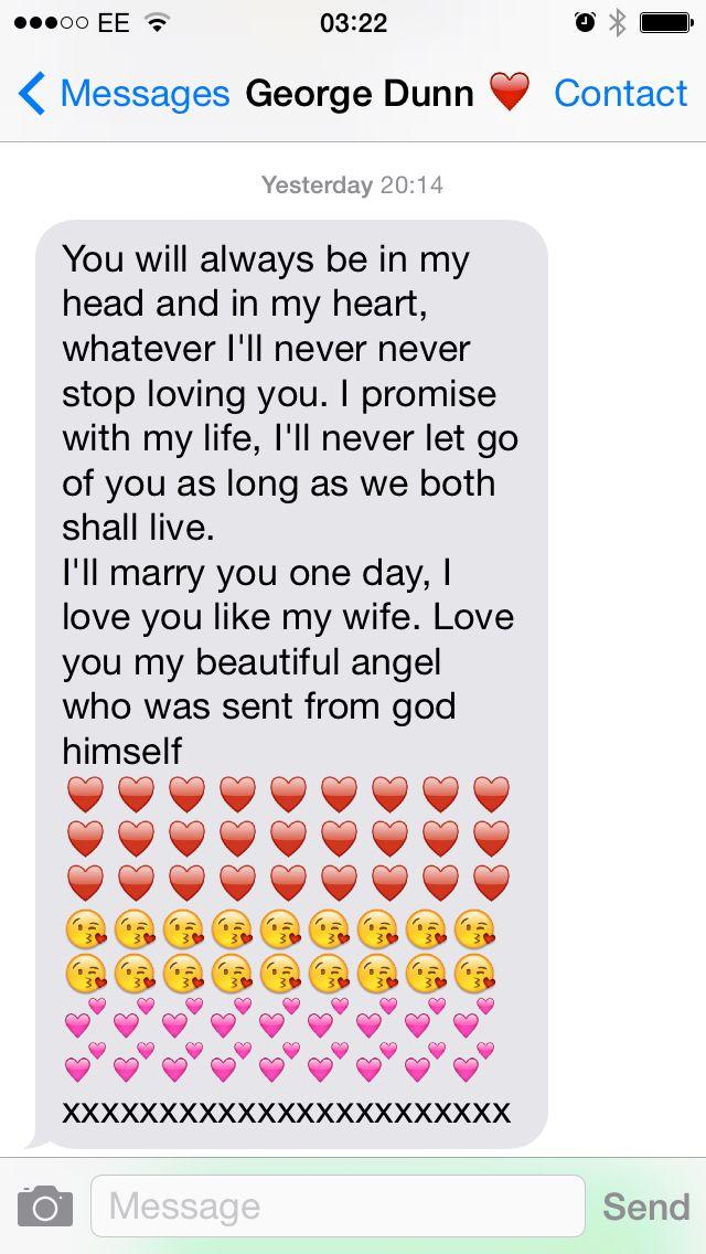 short love text messages for girlfriend