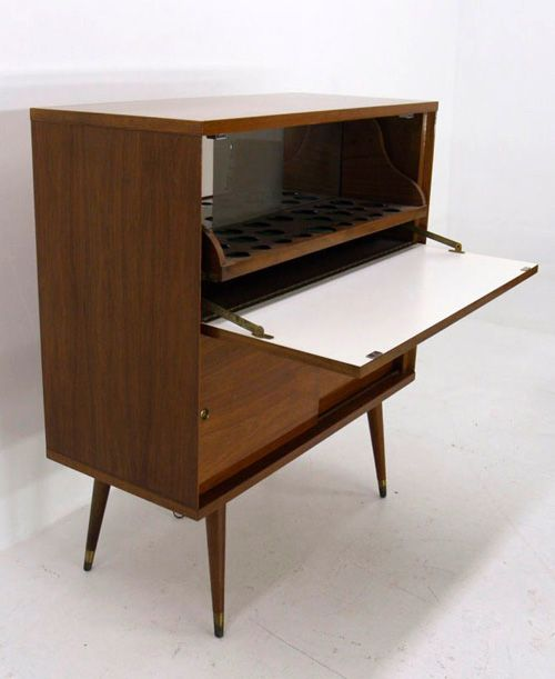 My mid century bar. - Vintage Bar Cabinet Mid Century /modern Bars Carts And More