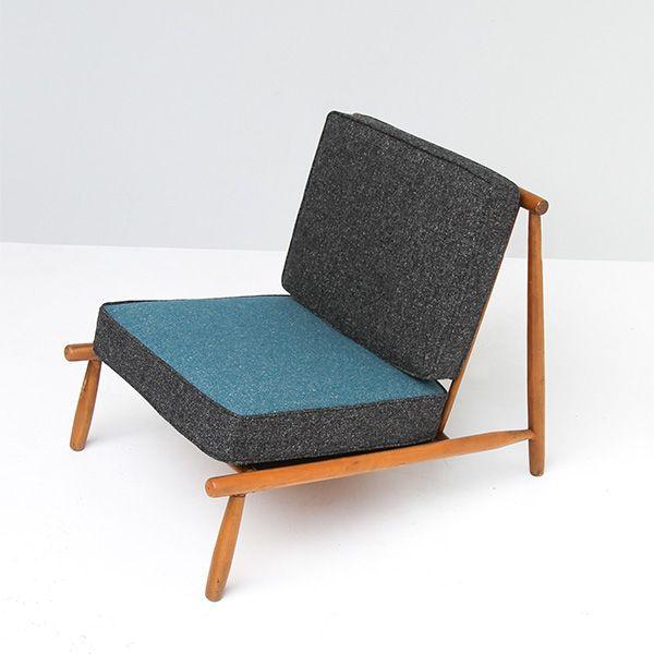 Alf Svensson 'Domus 1' Lounge Chair For Dux