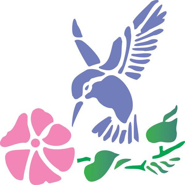 Hummingbird Stencil Google image result for