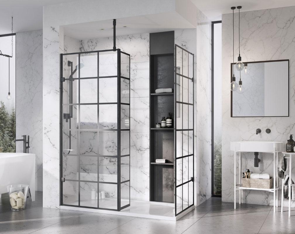 Crittall Shower Panels Enclosures Screens Shower Screen Shower Panels Bathroom Trends