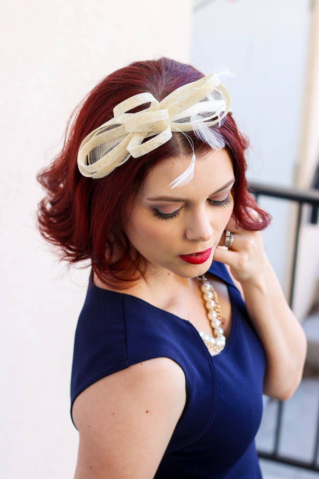Gold Fascinator  acd4bf15339