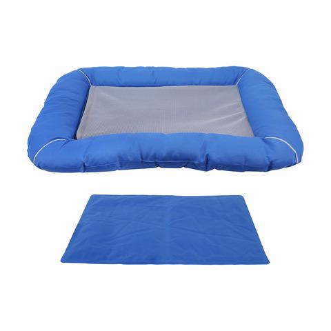 Pet Cooling Bed Blue Kmart Blue bedding