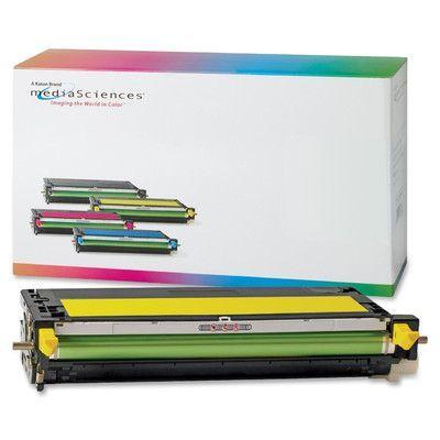 MEDIA SCIENCES, INC.                               Toner Cartridge, 4,000 Page Yield, Yellow