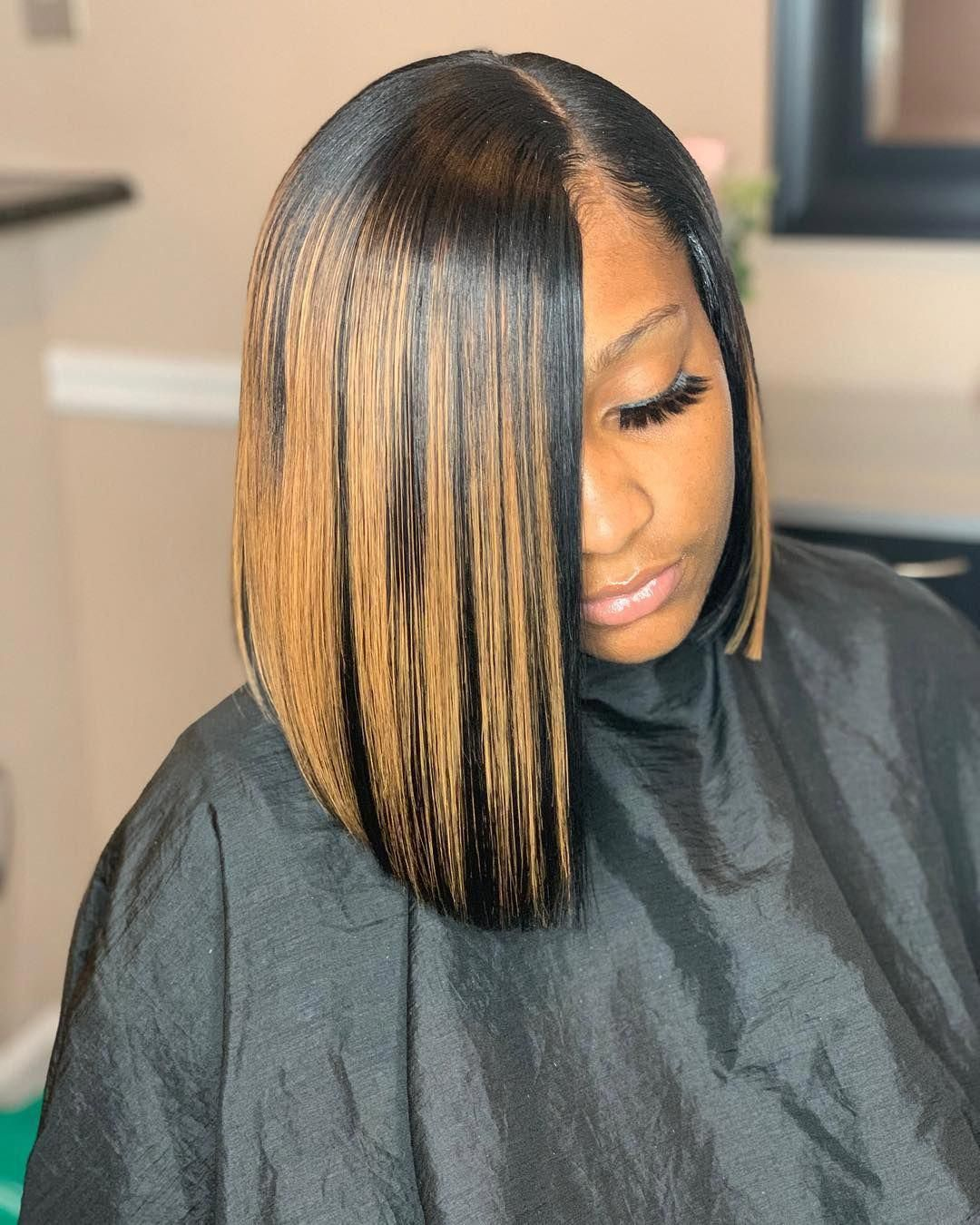 Rich Hair By Rivearra On Instagram It S About That Season Quick Weave Leave Out Quick Weave Hairstyles Quick Weave Hairstyles Bobs Weave Bob Hairstyles