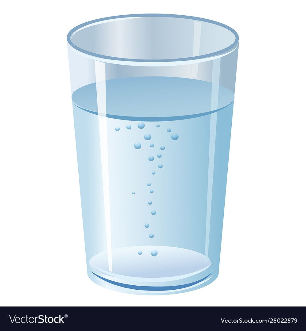 Illustration Of The Glass With Pure Clean Water Download A Free Preview Or High Quality Adobe Illustrator Ai Eps Pdf And Hig Glass Water Glass Pure Products