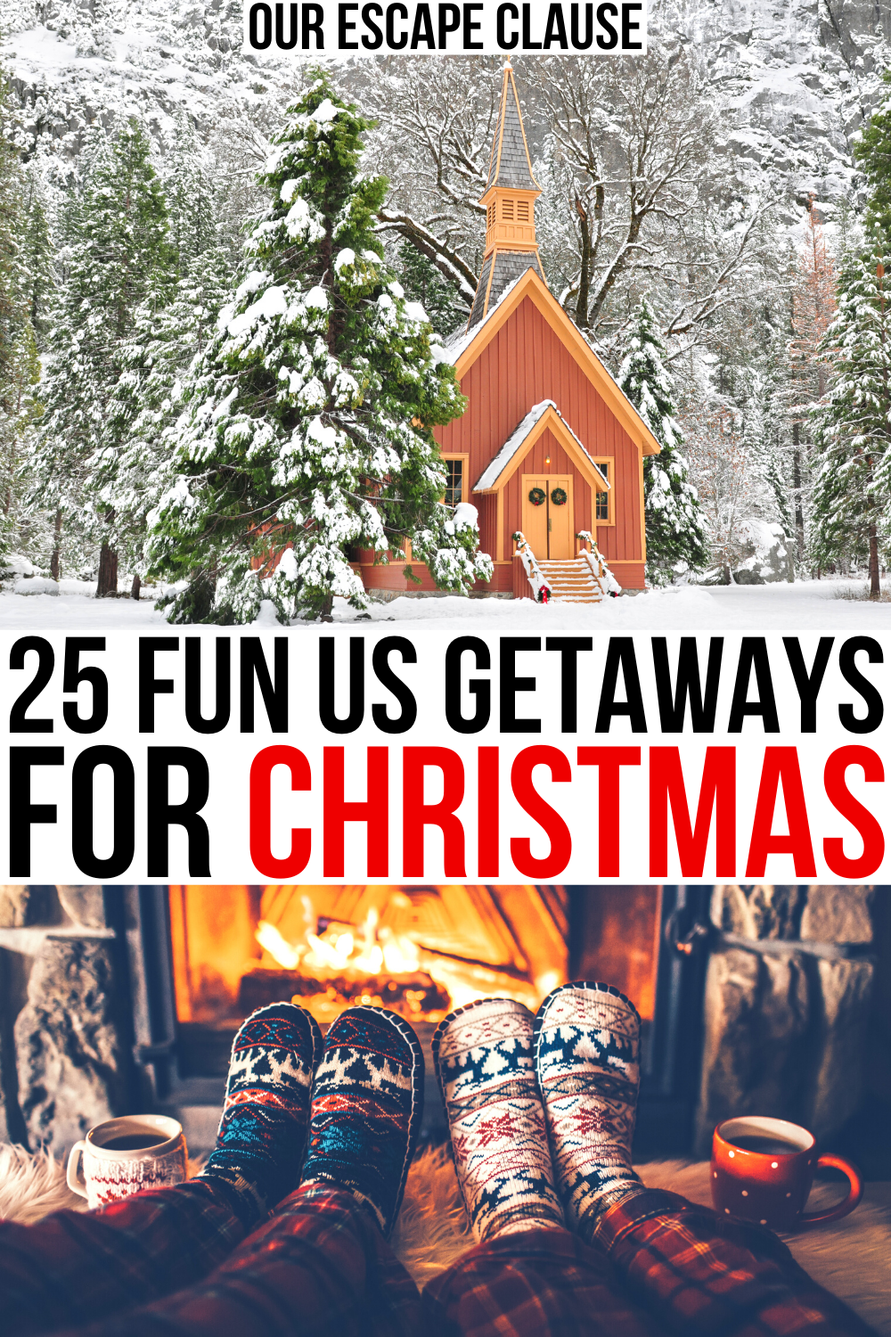 25 Best Christmas Vacations In The Usa Our Escape Clause Christmas Travel Best Christmas Vacations Christmas Travel Destinations