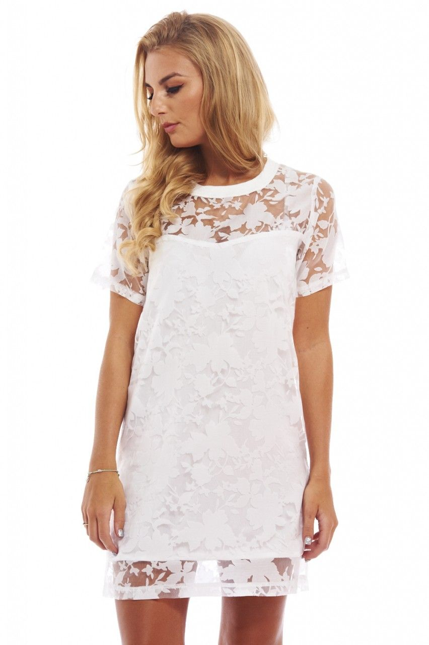 A Wild Side To An Innocent Lace Shift Dress Http Shopmodmint Com Product A Wild Side To An Innocent Lace S White Lace Shift Dress Dresses Classy White Dress [ 1280 x 852 Pixel ]