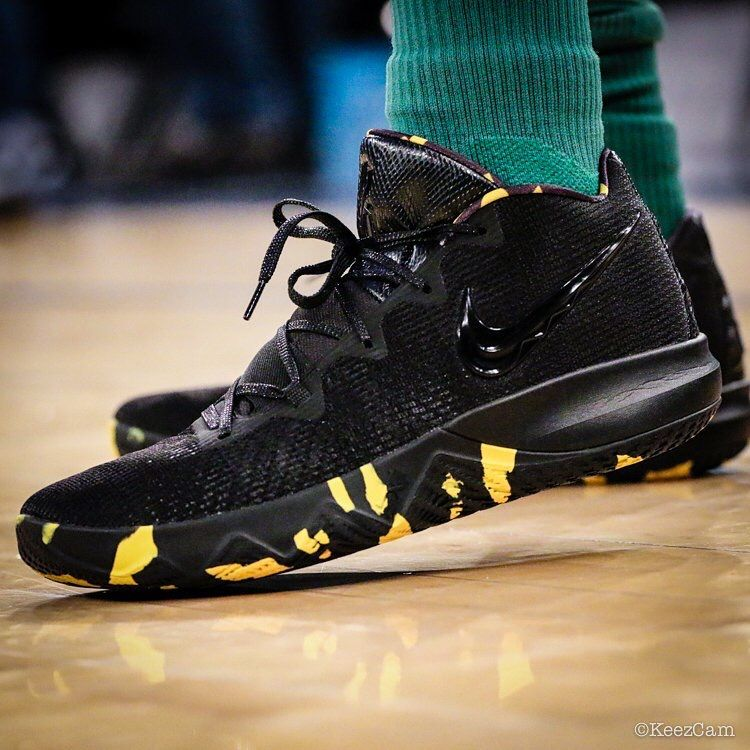 681e2f95e4fd I feel like these are paying homage to Black Mamba (Kobe) but I could be  wrong.  KyrieIrving Nike Core budget shoe.