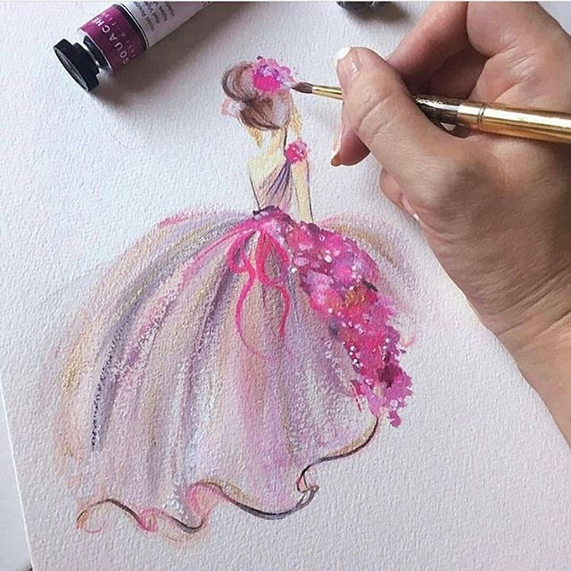 Beautiful Painting By: @lianahee _ Follow us @artistiq_feature for ...