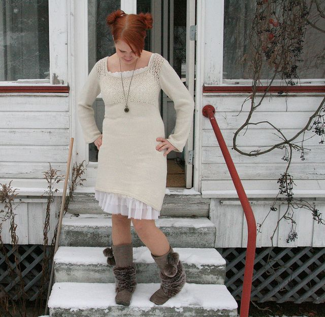 knitted dress, 2011