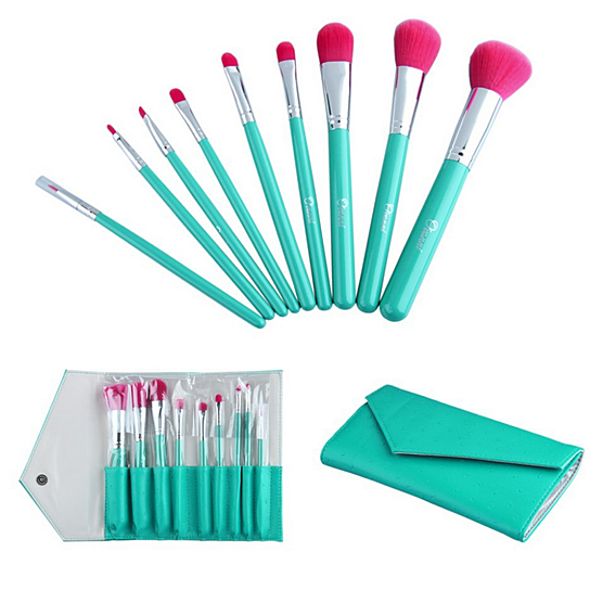 Professional Make up Cosmetic Brush set 9 pieces comes