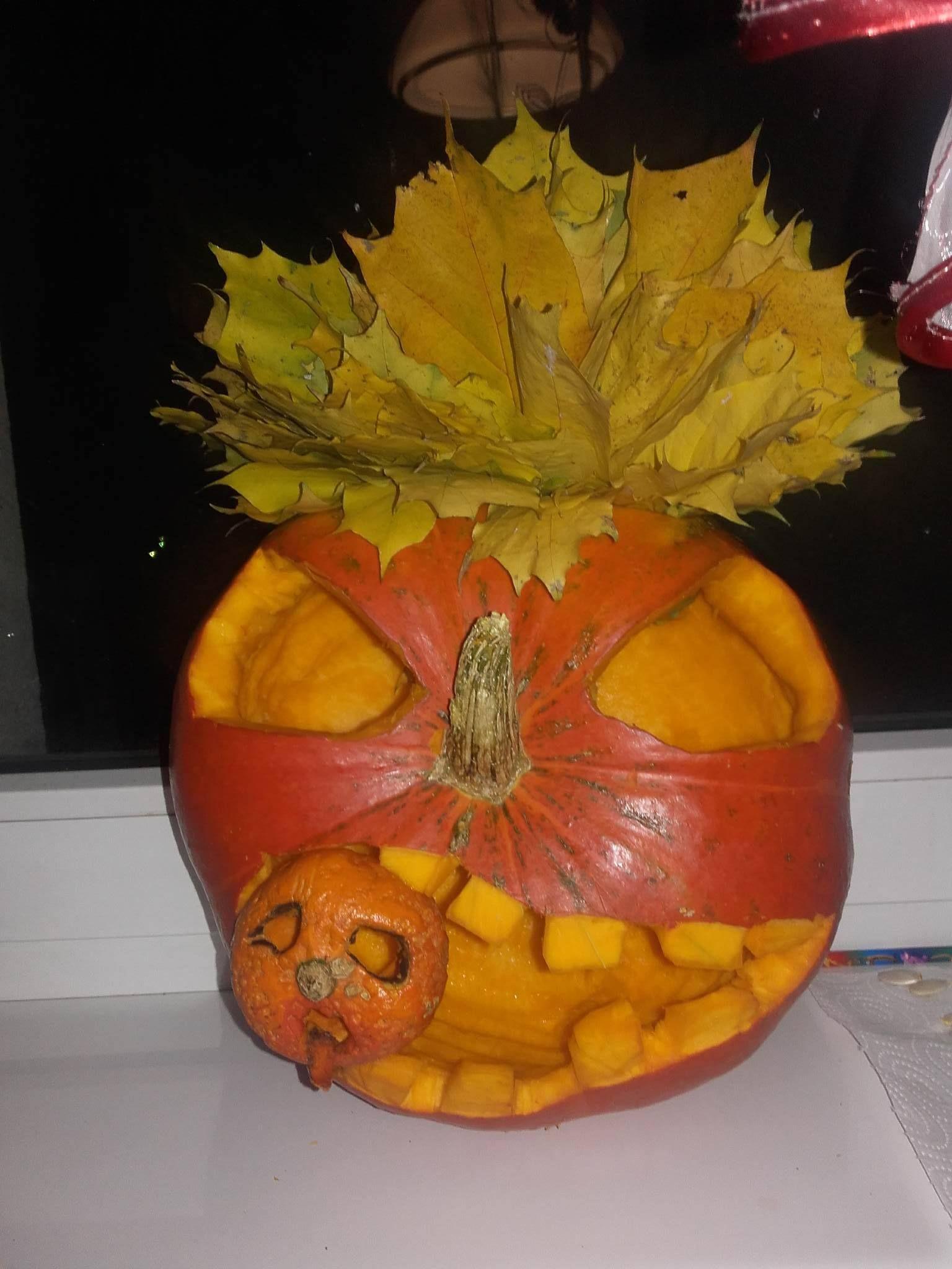 halloween dynia Halloween, Dynia, Rękodzieło
