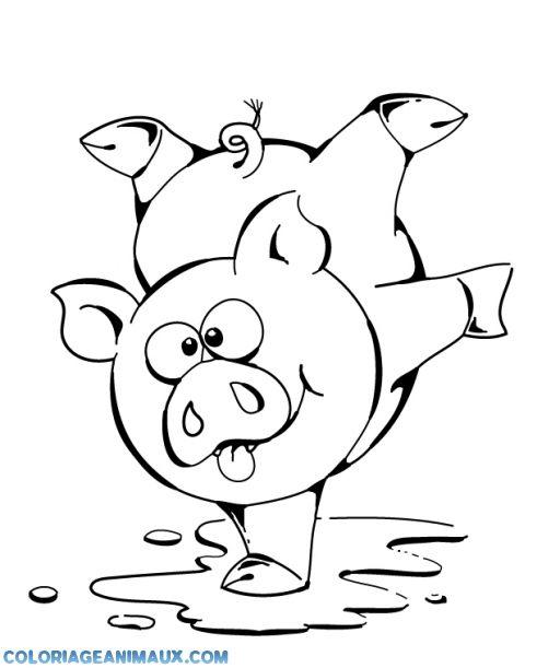 Dessin à colorier: Animaux de la ferme (Animaux) #209