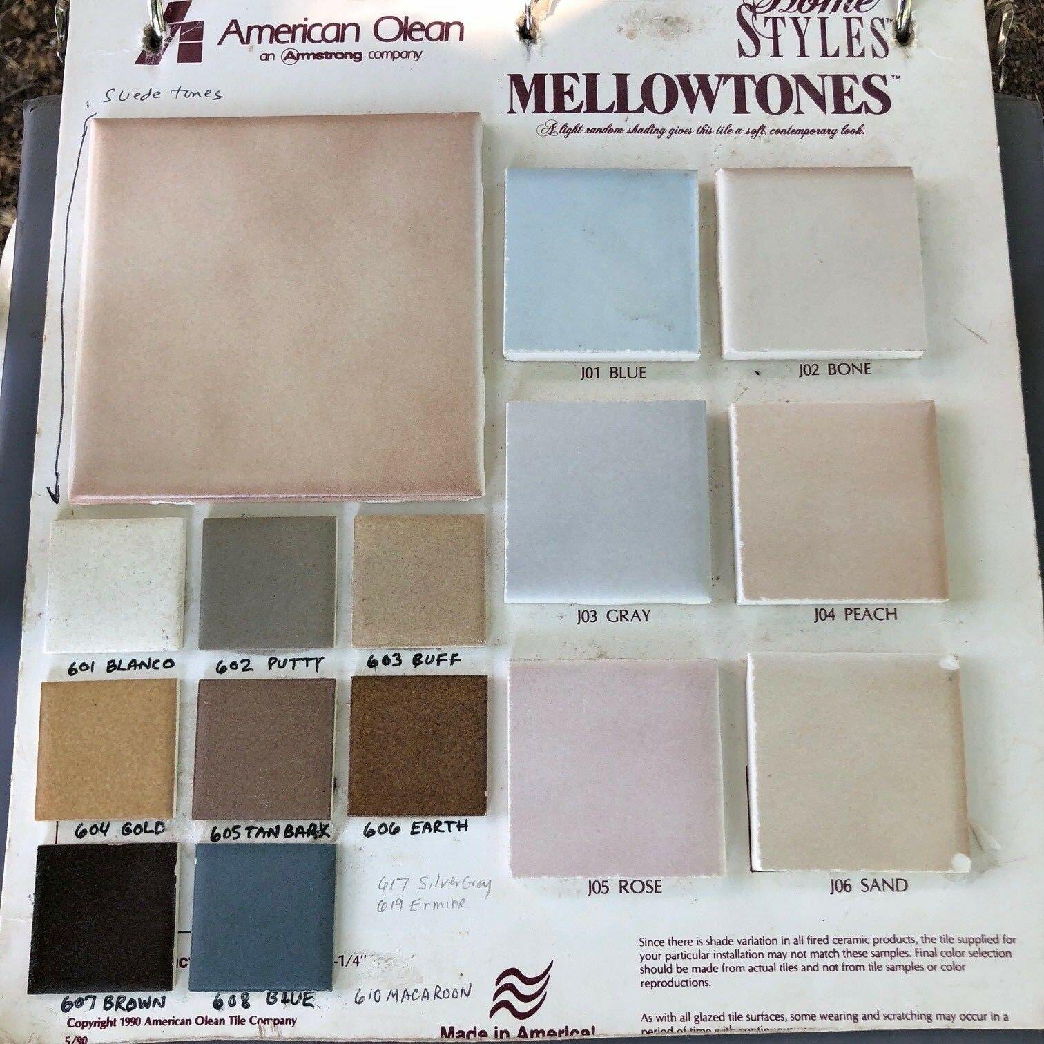 American Olean Vintage Mellowtones Tile