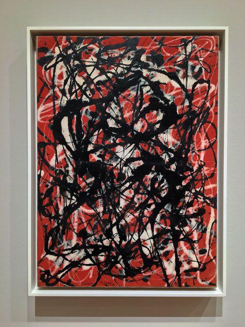 jackson pollock free form 1946  moma: Last chance! Jackson Pollock: A Collection ...