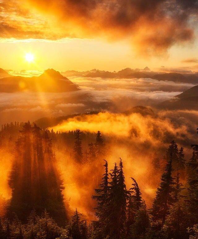 Beautiful Fall Sunrise Beautiful Nature Beautiful Landscapes Nature Photography