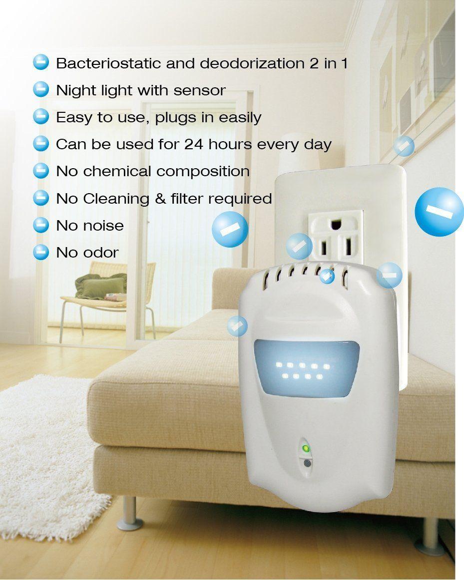 Anion Plugin Air Purifier and Ionizer Ionizer, Air