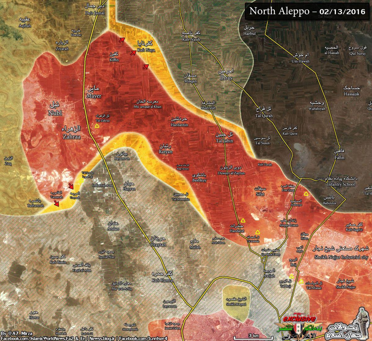 Iranian-led forces capture Al Tamurah – Syria