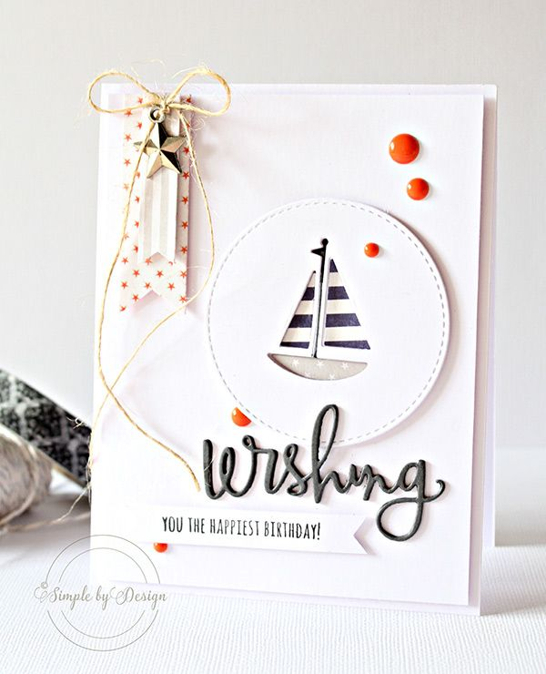 Awesome card created by Joy Taylor using the July 2015 card kit by Simon Says stamp. #cardkit