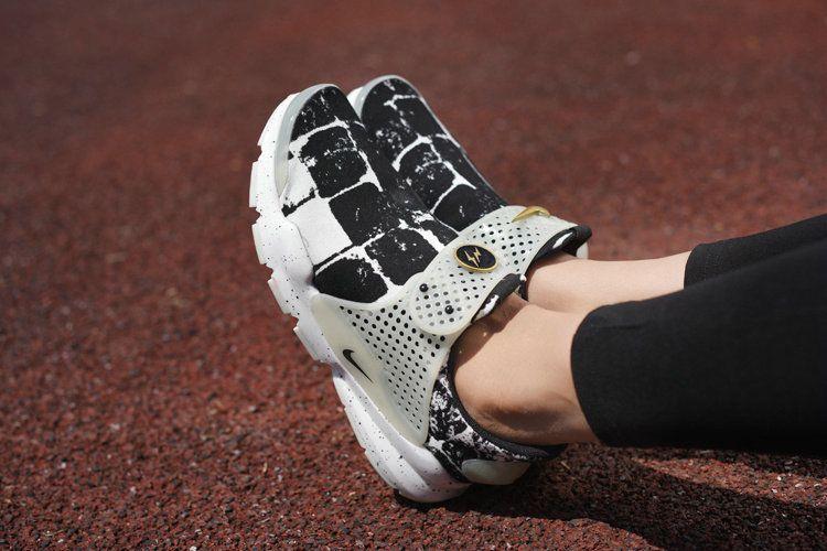 huge discount 3387c b2102 Nike Sock Dart lightning Print Oreo Black White Cool Grey On ...