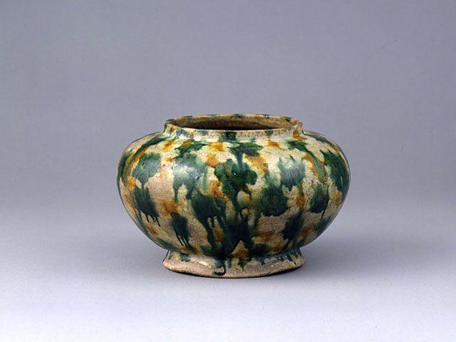 九州国立博物館(Kyushu National Museum) - 奈良三彩壺