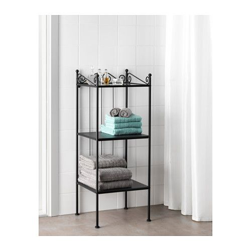 r nnsk r tag re noir tag res ikea ikea et salle de bains. Black Bedroom Furniture Sets. Home Design Ideas