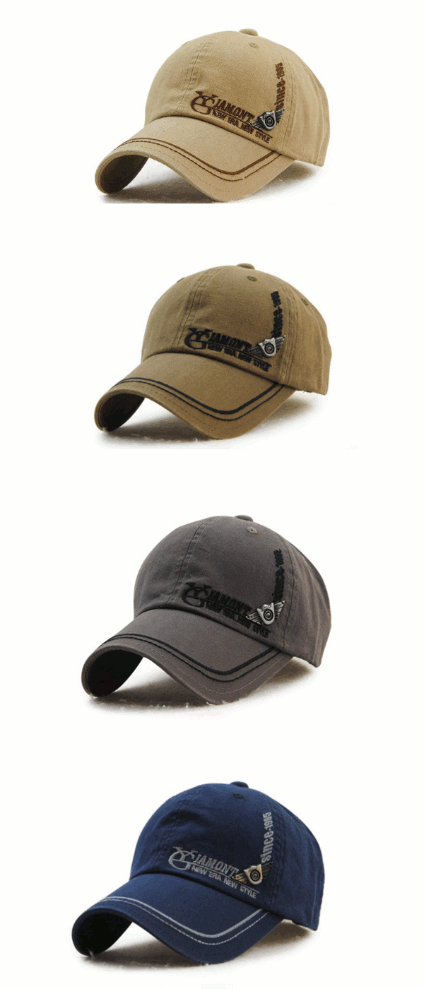 507cf77402b368 Men's Cotton Washed Embroidery Letter Baseball Cap Leisure Outdoor Golf Snapback  Hat