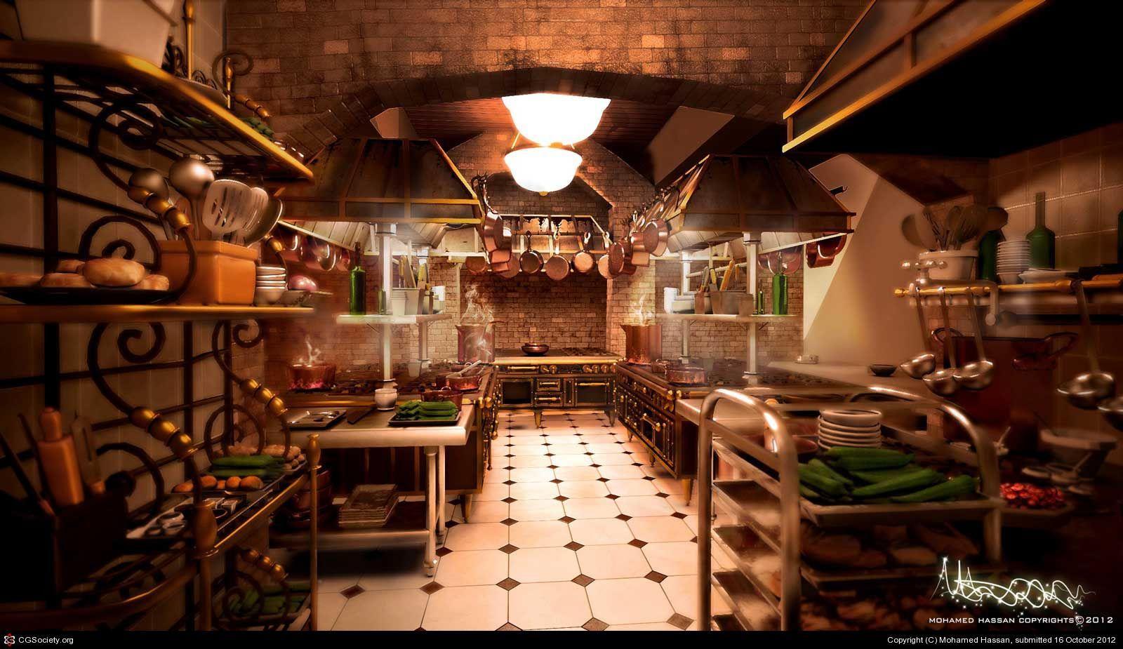 Ratatouille Kitchen By Mohamed Hassan Ratatouille Ratatouille Disney Film Concept