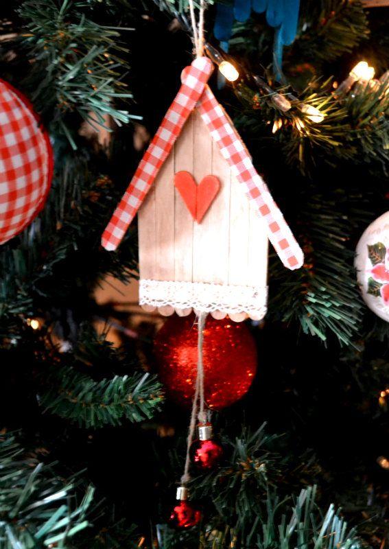 Lavoretti Per Addobbare L Albero Di Natale.Come Fare Casette Country In Legno Tutorial Lavoretti