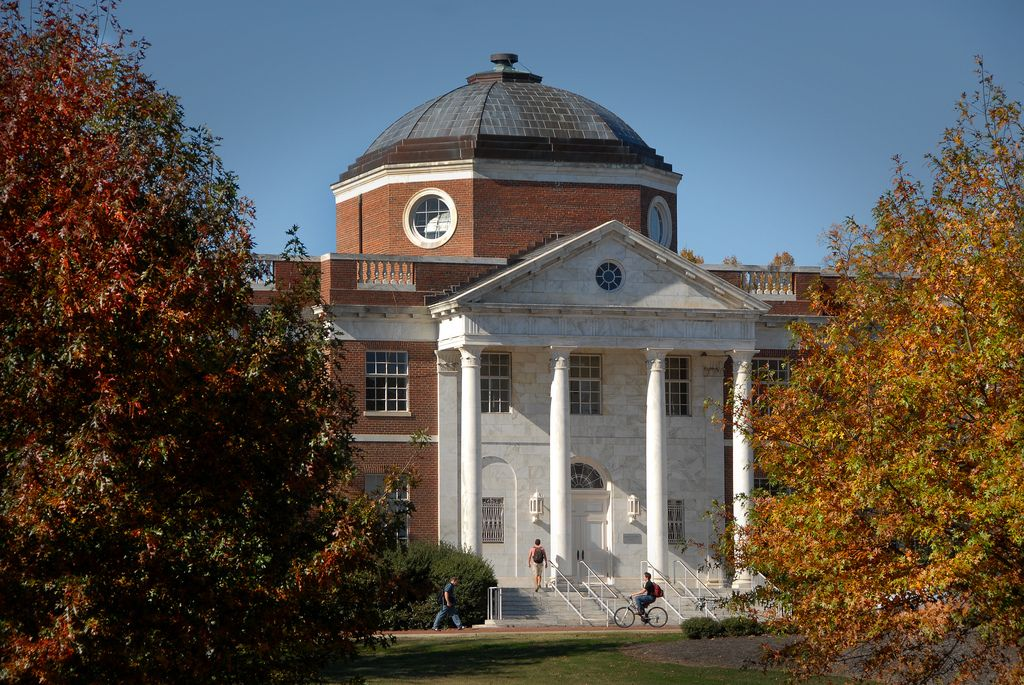 NC State College of Design in the fall. Buildings and