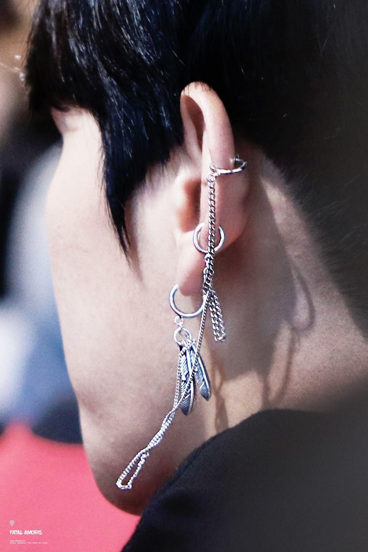 Creative BTS Earrings Personalized Asymmetric Earrings Ear Studs Women Jewelry★★