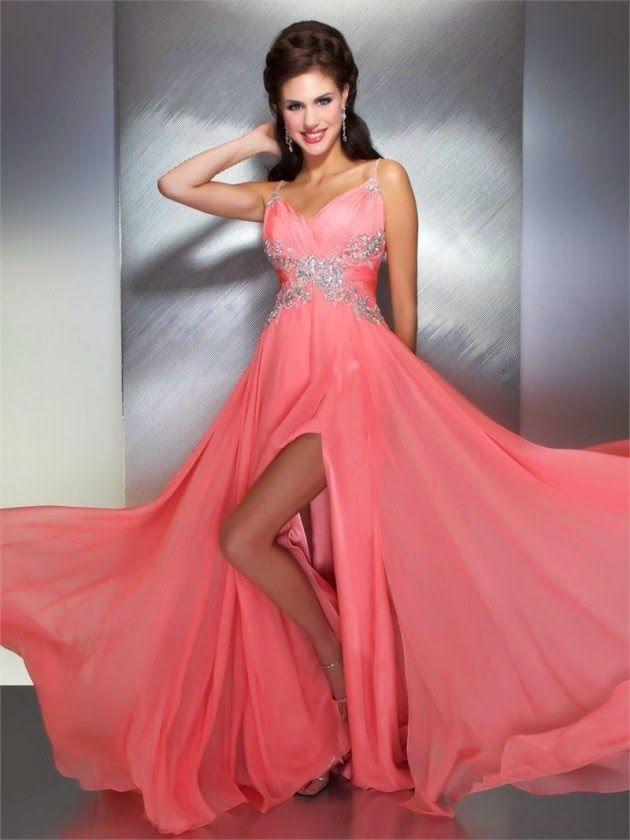 Vestidos de fiesta elegantes | moda | Pinterest | Vestidos de fiesta ...