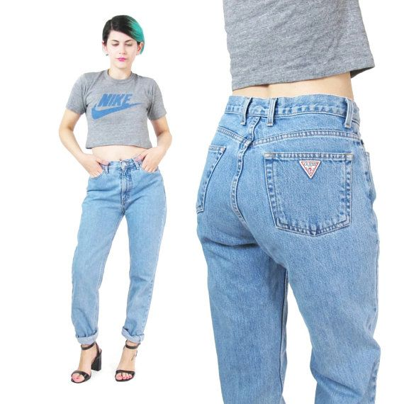 Vintage Guess Jeans 90s Mom Jeans Womens by honeymoonmuse ...