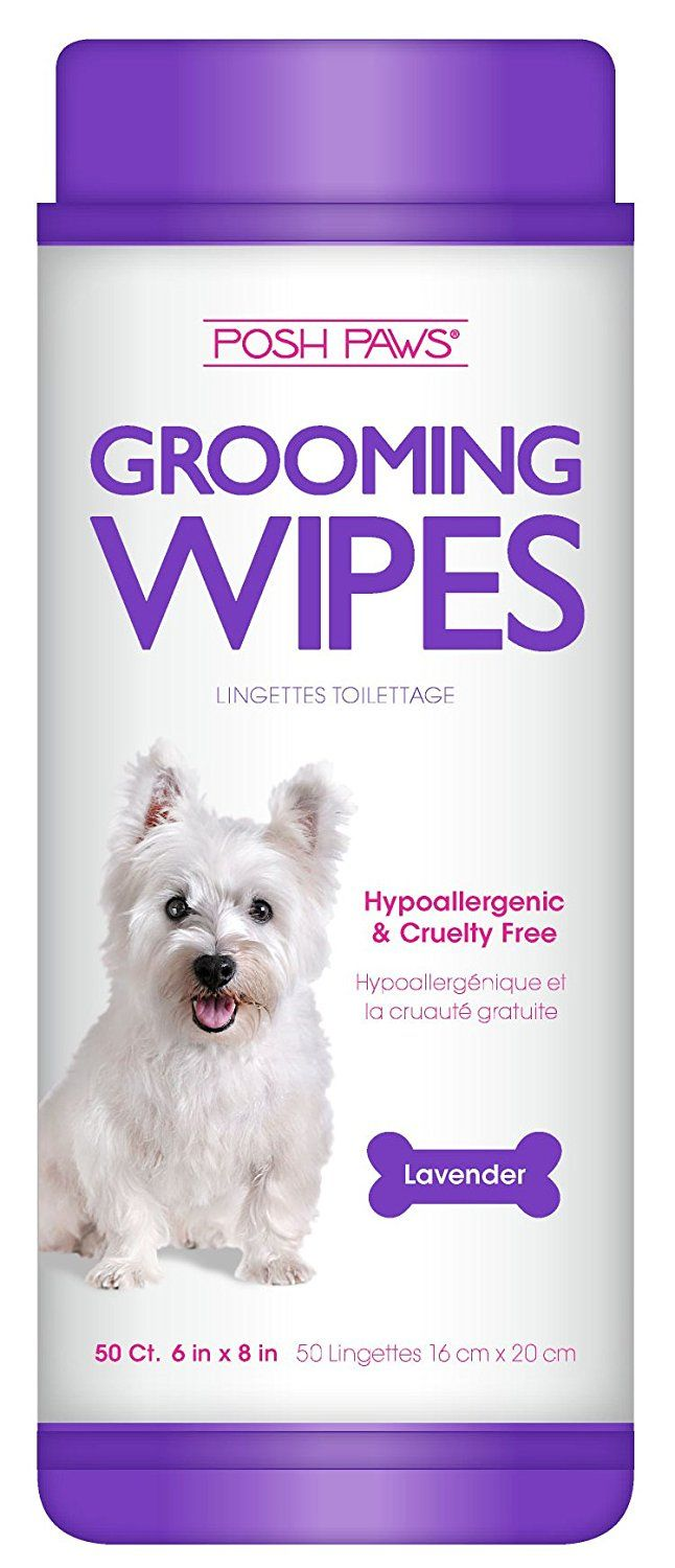 Posh Paws Hypoallergenic Dog Grooming Wipes >>> Click