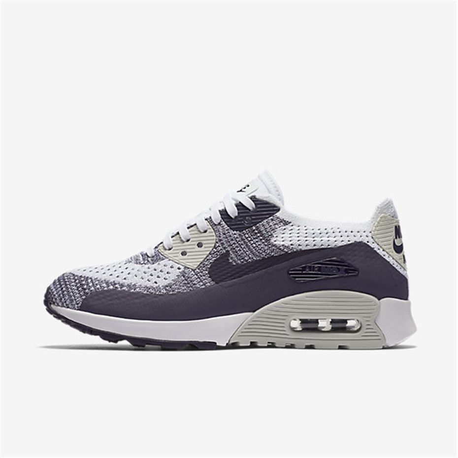 Nike Air Max 90 Ultra 2.0 Flyknit Womens WhitePurple