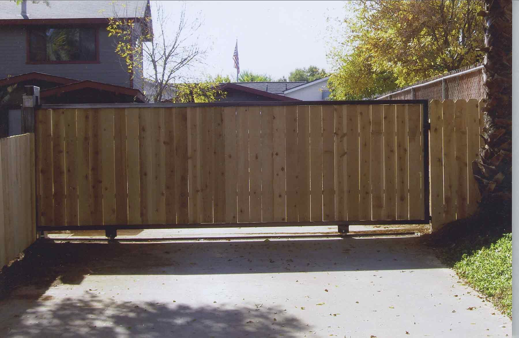 Inexpensive Wood Driveway Gates Miami For Wood Gate Rehab