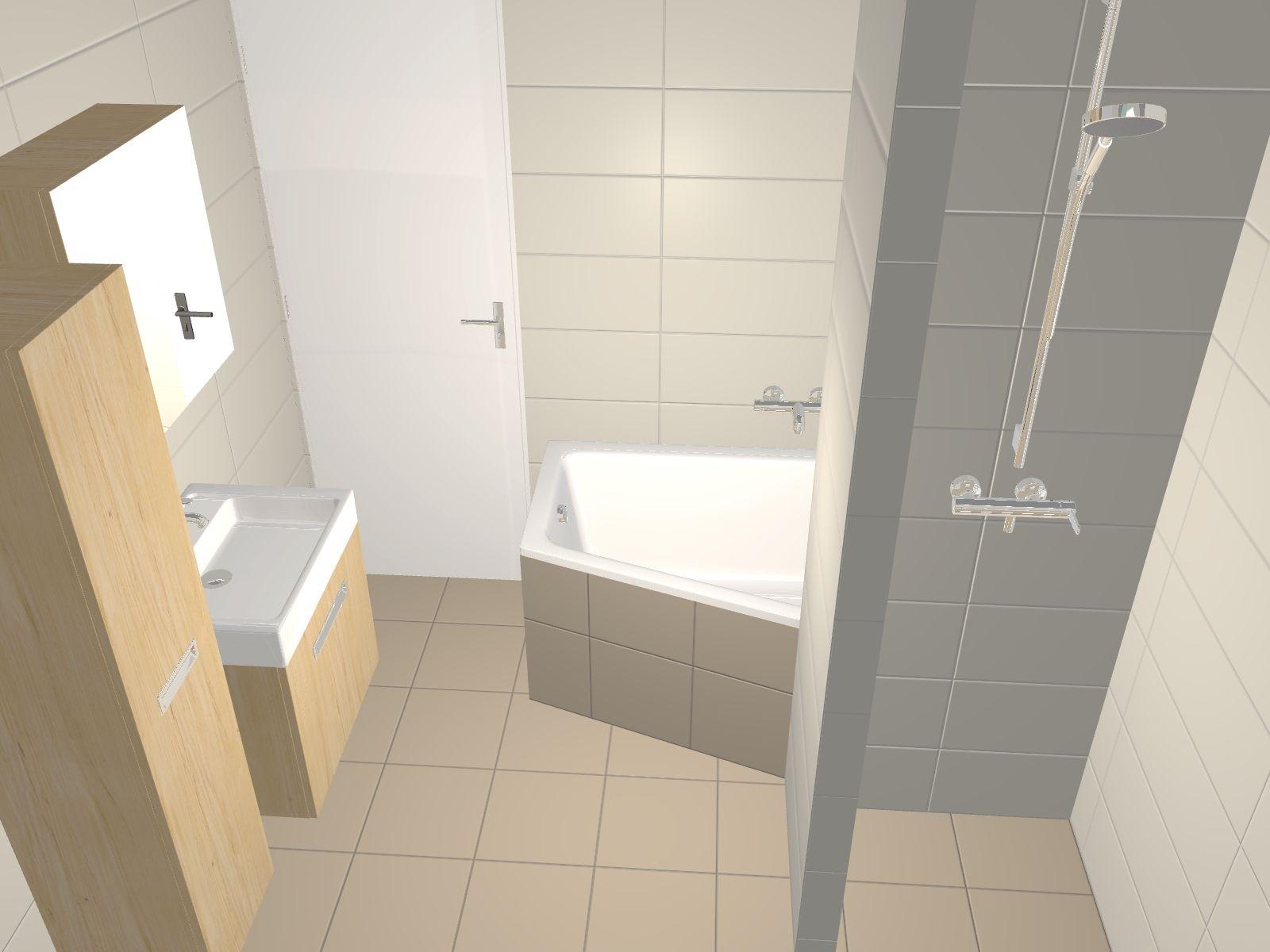Vraag een gratis 3D ontwerp aan voor uw badkamer of toilet -roos ...