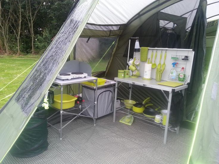 Tent Storage Hacks & Adding A Second Shelf To RV Kitchen ...