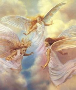 Angels - a gallery of beautiful Angel artwork by various artists. The collection of Angel images here is truly inspirational. The images have been credited to the artists where known.