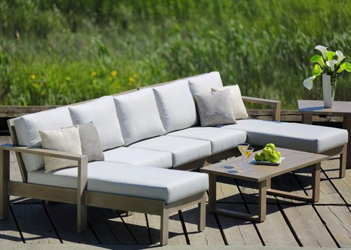 The Parklane Sectional Outdoor Furniture Outdoor Furniture Sets