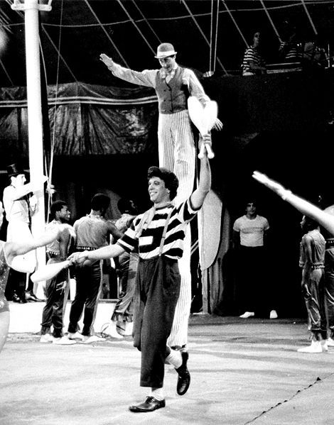 Paul Binder, as an auguste, in the finale at the Big Apple Circus (1978) http://www.bigapplecircus.org/